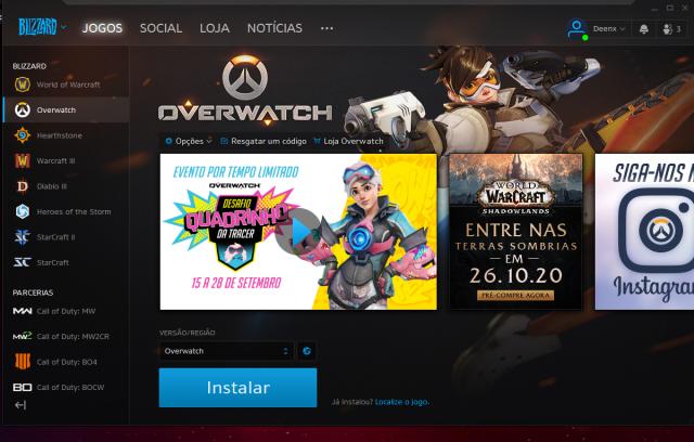 venda Overwatch