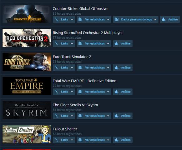 Melhor dos Games - Conta Steam - PC