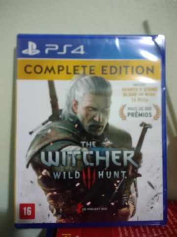 Desapego Games - The Witcher 3 Complete Edition - PlayStation 4