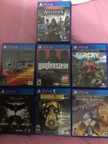 Varios games de PS4