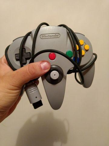 Controle Cinza N64