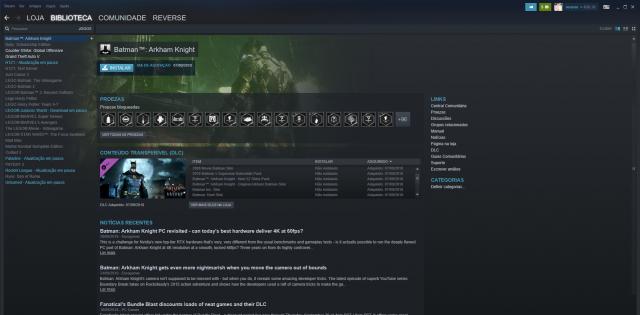 conta steam 23 jogos