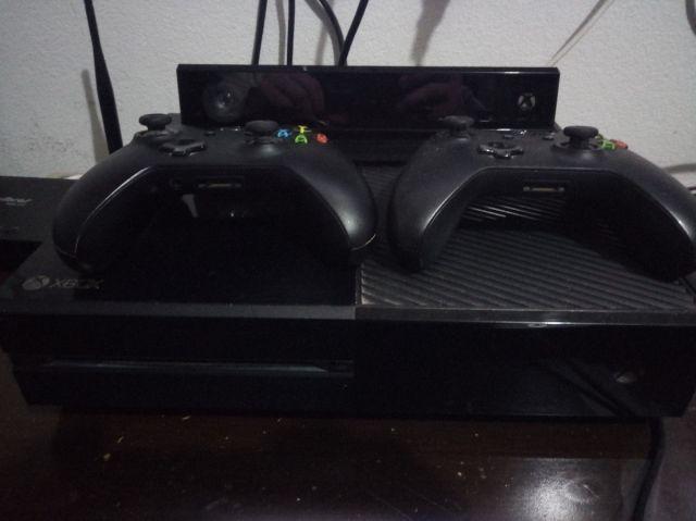 venda Xbox One Com Kinect + 6 Jogos (mídia Física) + Con
