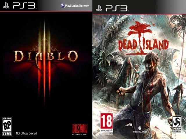 TROCA PS3, DIABLO3, DEAD ISLAND