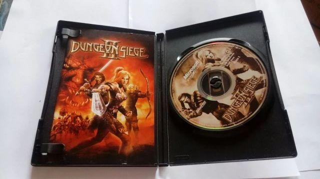 Dugeon Siege 2 Pc Jogo Original - 4 Dvd Pc - Mídia