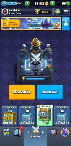 Conta clash royale full cartas