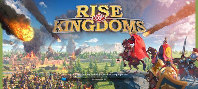 Conta de RISE OF KINGDONS