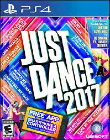 Just Dance 2017 e 2016