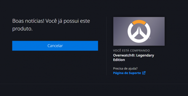venda Overwatch - Legendary Edition