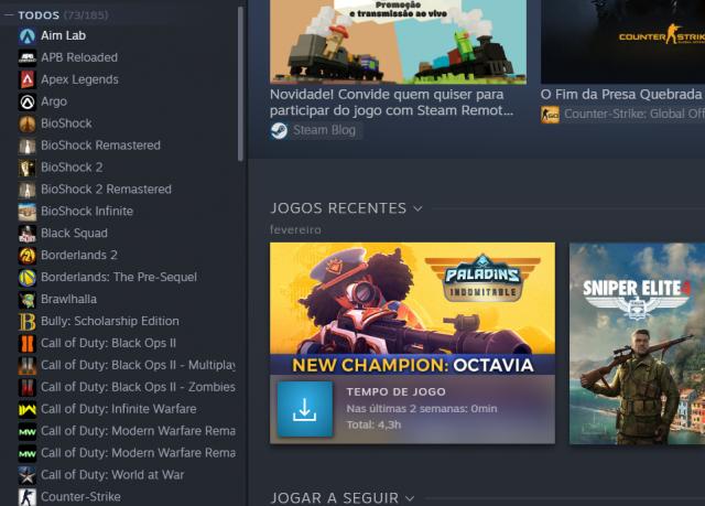 venda Conta steam com 80+ jogos