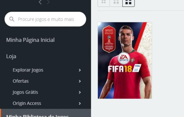 VENDO OU TROCO CONTA EA COM FIFA 18