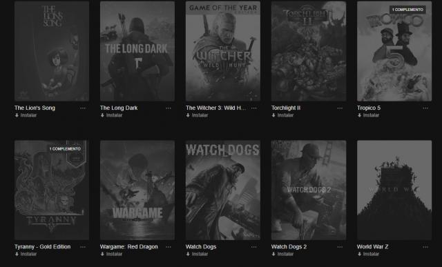 Desapego Games - Conta Epic Games 70 jogos - PC