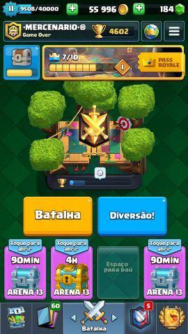 venda Conta Clash Royale lvl 11