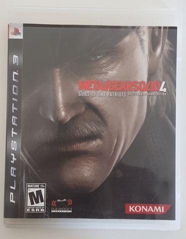 venda Metal Gear Solid 4