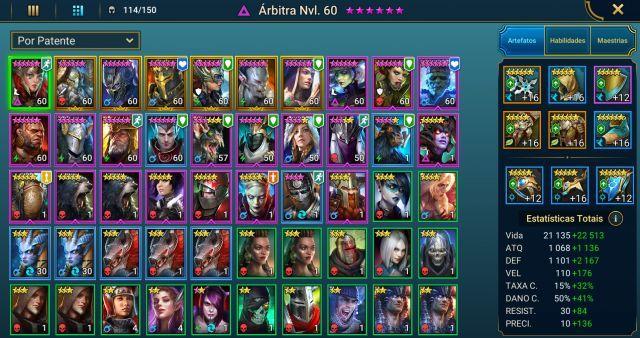 venda conta raid shadow legends top