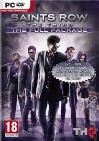 Saints Row The Third - The Full Package Key Steam