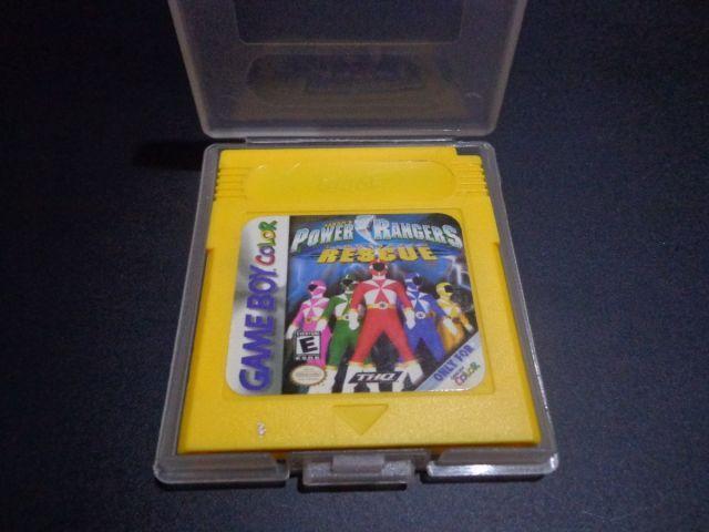 Cartucho Gameboy Power Rangers
