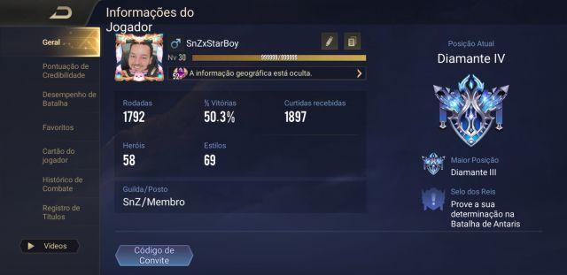 Desapego Games - Conta Arena Of Valor AOV - Mobile, Android