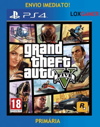 venda GTA V Midia digital Primária envio imediato