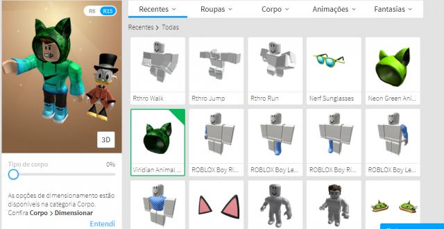 roblox - mais de +1000 robux gasto