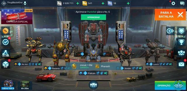 Vendo Conta War Robots
