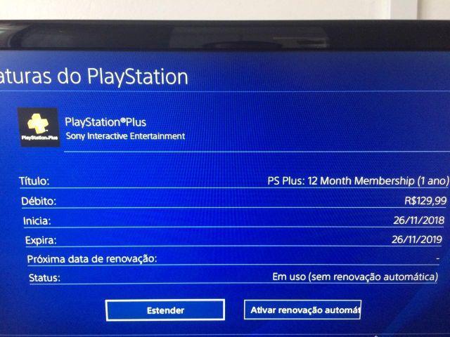 conta psn PS4 com fifa 19