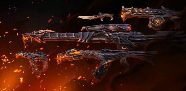 Conta valorant com kit ultra dragão