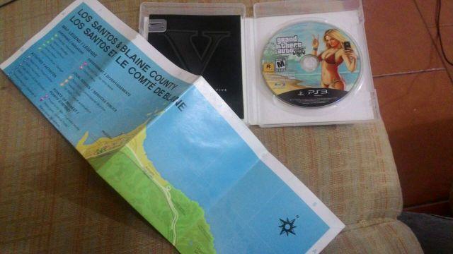 troca GTA 5 (PS3)