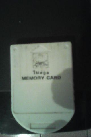 Memory card  1 mega play 1