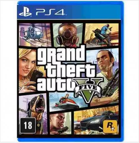 venda Grand Theft Auto V (PS4)