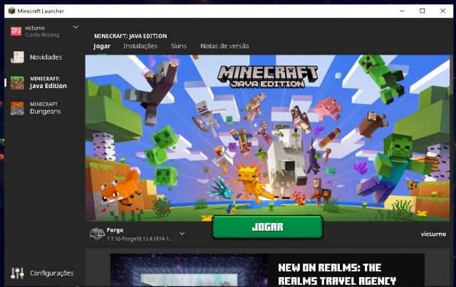 Melhor dos Games - Minecraft original - PC