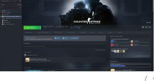venda Conta da Steam com CS:Prime
