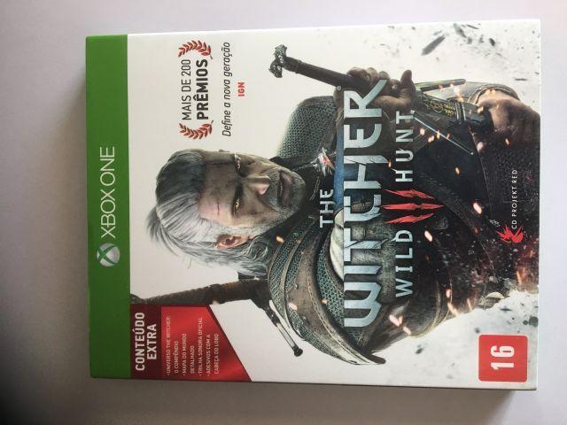 The Witcher 3 Wild Hunter Xbox One(Mídia Física)