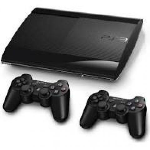 venda Playstation 3 Super Slim + 11 jogos