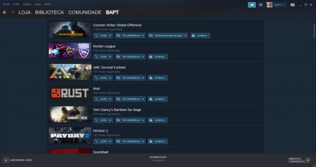 venda Steam nível 20   +10 jogos   RainbowSix, ARK, Rust