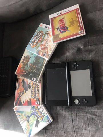 venda Nintendo 3DS XL + 5 Jogos