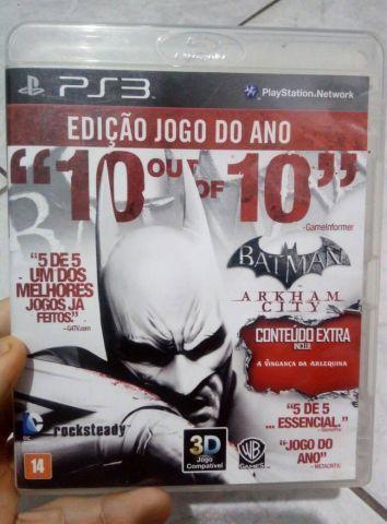 Batman Arkhan City GOTY PS3