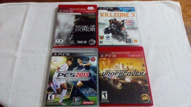 venda Jogos de PS3 a partir de 15 reais