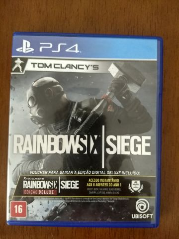 venda Rainbow Six Siege + Voucher Edição Deluxe