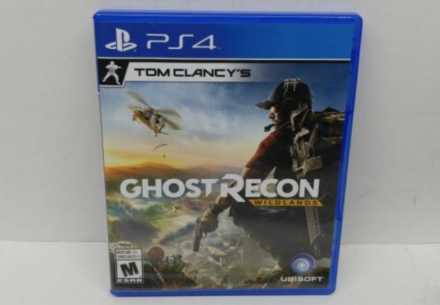 Tom Clancys Ghost Recon Wildlands PS4 MÍDIA FÍSICA