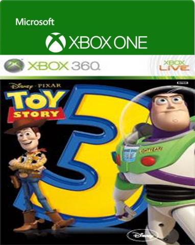 Toy Story 3 Jogo Xbox One/360 Game Digital 100% Or