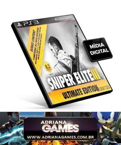 venda Sniper Elite 3 PS3 Game Original Digital Jogo Port