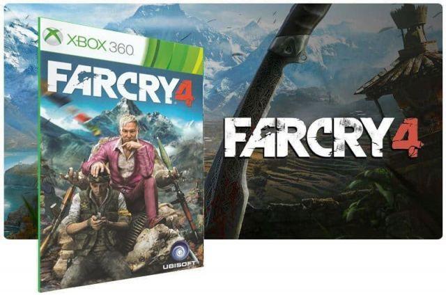 Far Cry 4 Xbox 360 Jogo Digital Original Xbox Live
