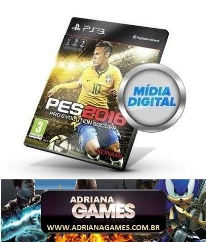 venda PES 2016 Português Jogo Digital PS3 PSN Game