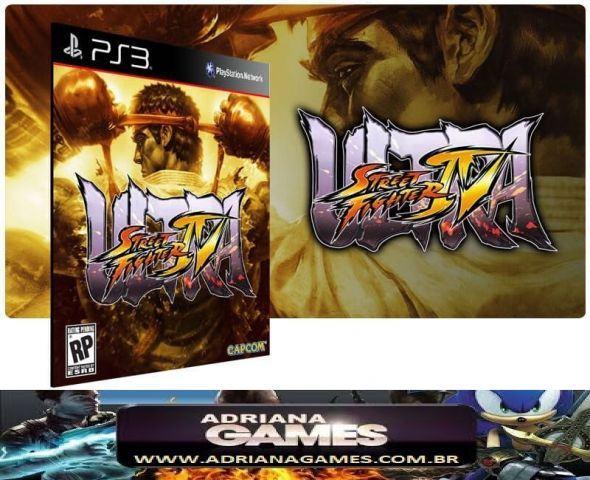 venda Ultra Street Fighter 4 Jogo Digital PS3 PSN Game