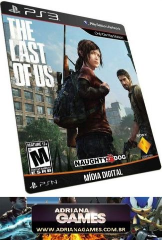 The Last of Us Português Game Digital PS3 PSN Game