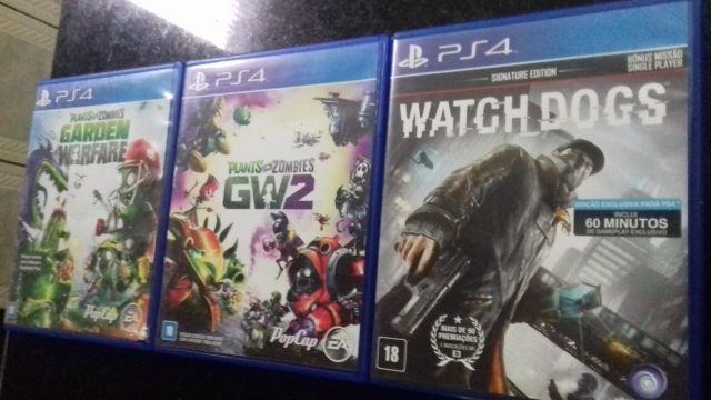 3 jogos da sua escolha