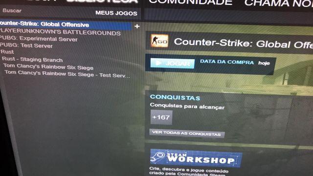 Conta na Steam