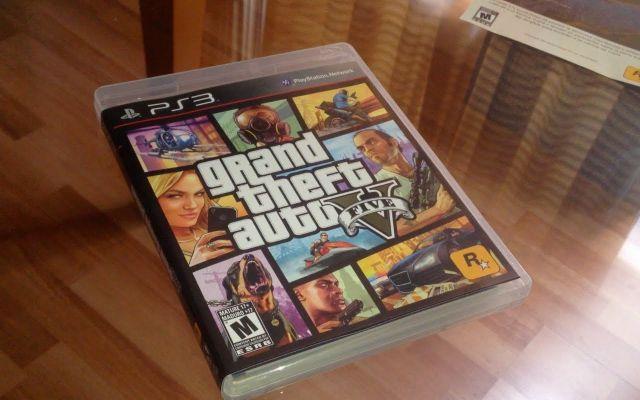 venda GTA V PS3